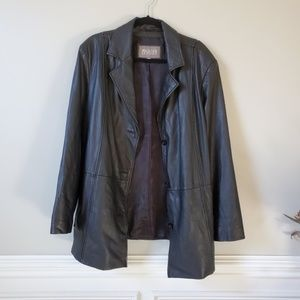 WILSON'S LEATHER | Black Leather Jacket | 3X